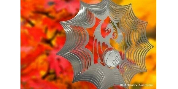 Aussie Spinners – Designer Contempo Collection – Crystal Dragon