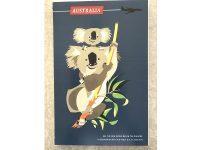 Aussie Spinners - Tea Towel - Koalas Vintage