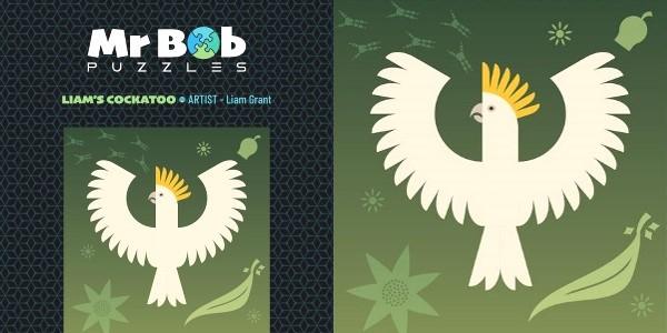 Mr Bob Puzzles – Liam's Cockatoo