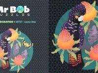 Mr Bob Puzzles - Black Cockatoo