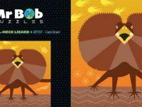 Mr Bob Puzzles - Liam's Frill Neck Lizard