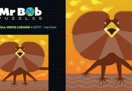Mr Bob Puzzles – Liam's Frill Neck Lizard